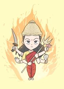 Nandni_Mata_Durga__With_Fire_BG__Full_Size